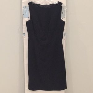 Ann Taylor Classic Sleeveless Black Dress